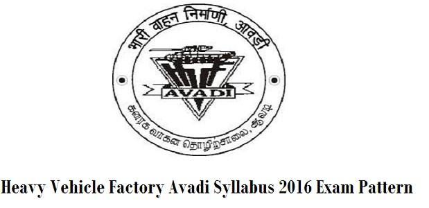 HVF-Avadi-Syllabus-2016