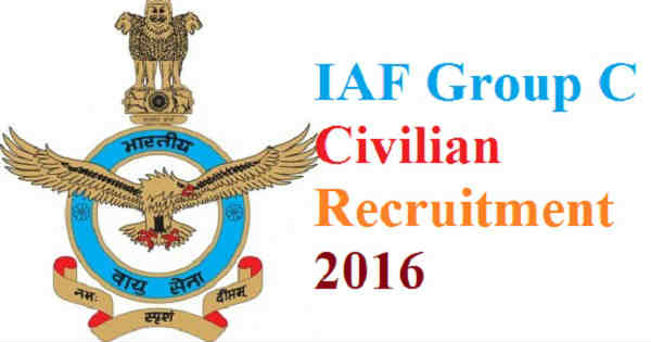 IAF Recruitment 2016