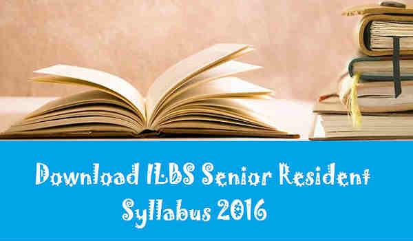 ILBS Syllabus 2016
