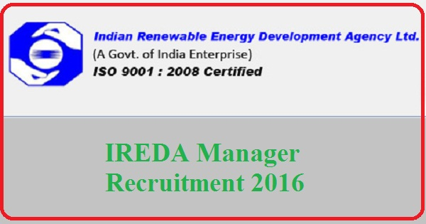 IREDA-Recruitment-Notification-2016