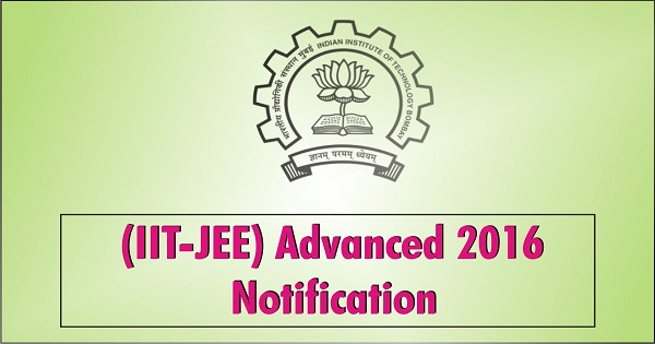 JEE-Advanced-2016-Application Form