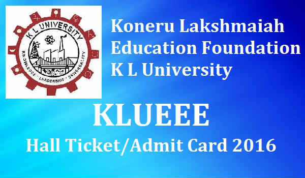 KLUEEE-Hall-Ticket-2016