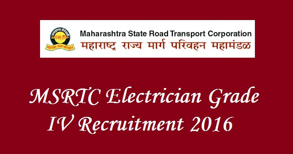 MSRTC-Recruitment-2016