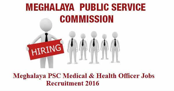 Meghalaya-PSC-Recruitment-2016