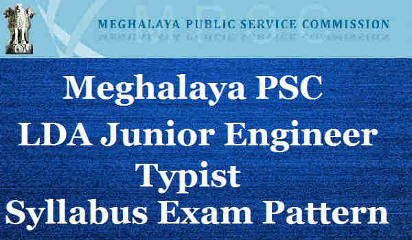 Meghalaya-PSC-Syllabus-2016
