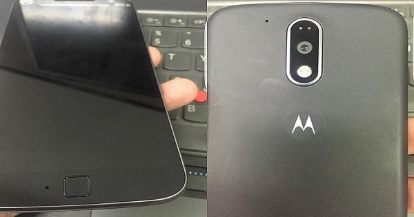 Moto G4 Plus With Fingerprint Scanner