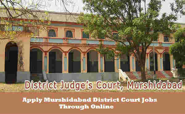 Murshidabad District Court Recruitment 2016