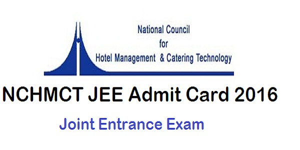 NCHMCT-JEE-Admit-Card-2016
