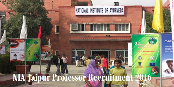 NIA-Jaipur-Professor-Recruitment-2016
