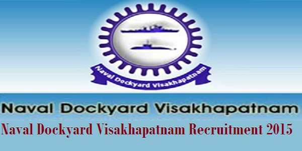 Naval-Dockyard-Visakhapatnam-Recruitment-2015