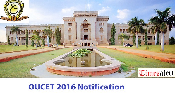 OUCET Notification 2016