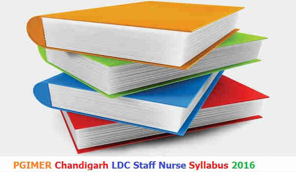 PGIMER Chandigarh Syllabus 2016