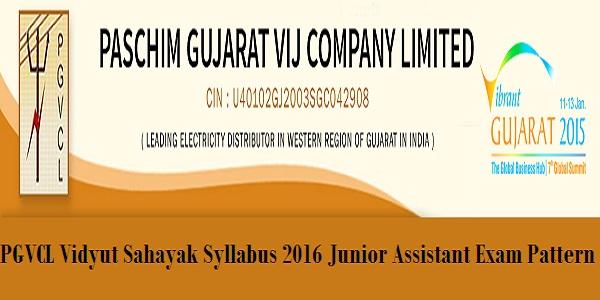 PGVCL-Vidyut-Sahayak-Syllabus-2016