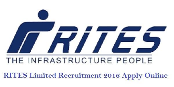 rites.com- RITES Limited Recruitment 2016