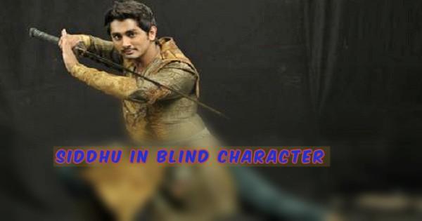 SIDDHU In Blind Character