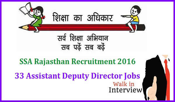 SSA-Rajasthan-Recruitment-2016