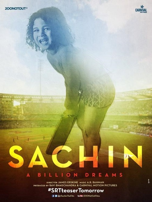 Sachin A Billion Dreams Latest Poster