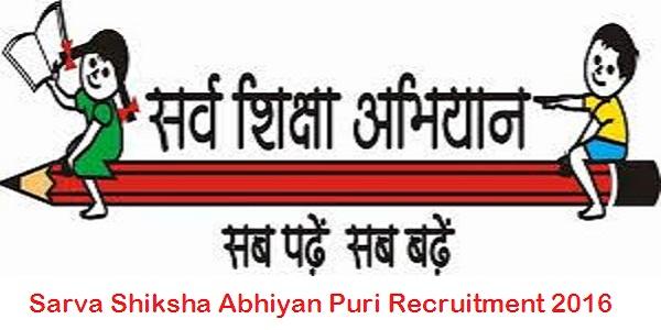 Sarva-Shiksha-Abhiyan-Puri-Recruitment-2016