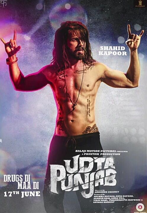 Shahid-Kapoor First Look Udta Punjab