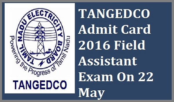 TANGEDCO-Admit-Card-2016