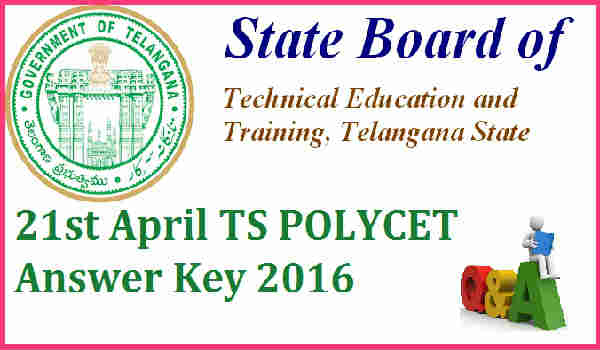 TS-POLYCET-Answer-Key-2016