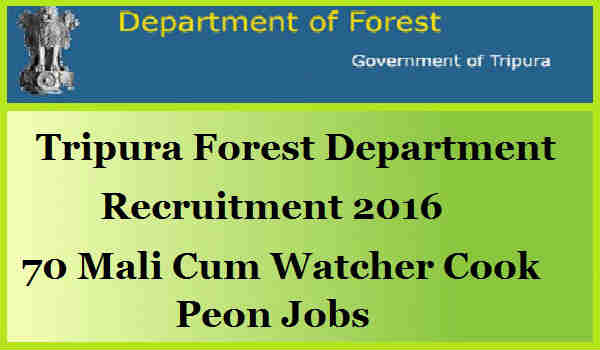 Tripura-Forest-Department-Recruitment-2016