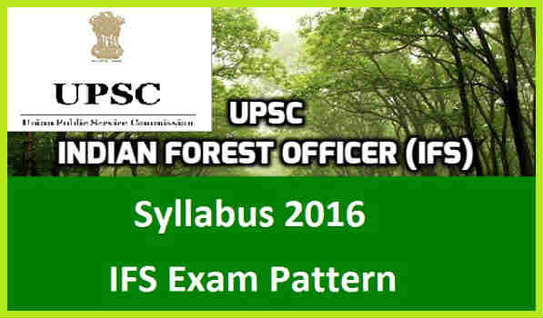 UPSC-IFS-Syllabus-2016