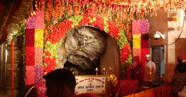 Vaishno mata as stone
