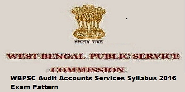 WBPSC-Audit-Accounts-Services-Syllabus-2016