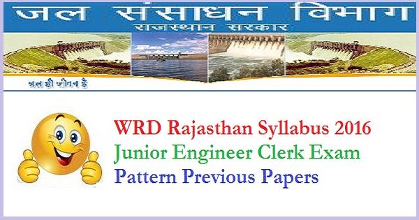 WRD-Rajasthan-Syllabus-2016-Pattern