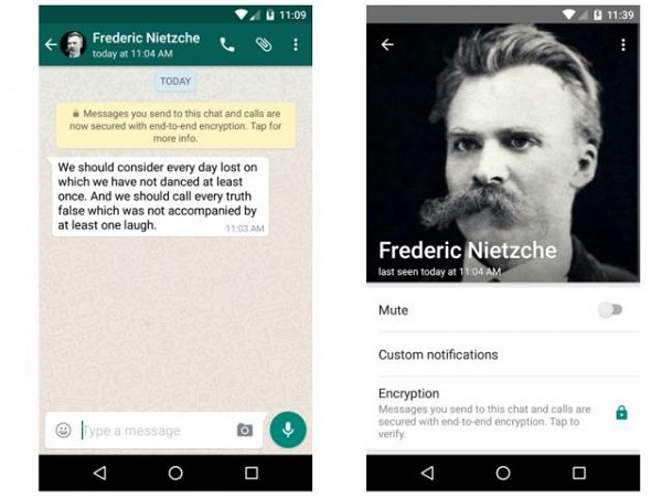 WhatsApp-End-To-End Encryption