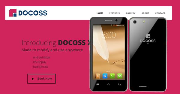 docoss x1 online registration