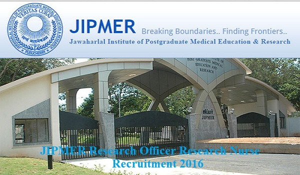 jipmer-recruitment-2016