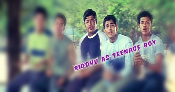 siddhu as teenage boy