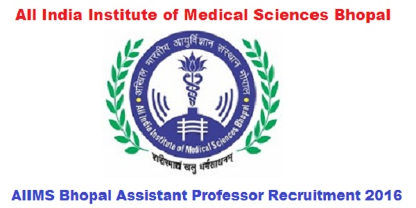 AIIMS-Bhopal-Recruitment-2016