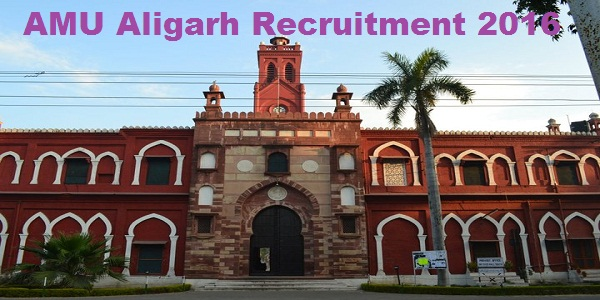 AMU-Aligarh-Recruitment-2016