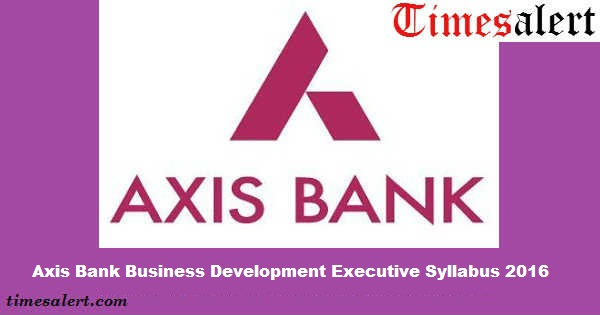 executive summary of axis bank