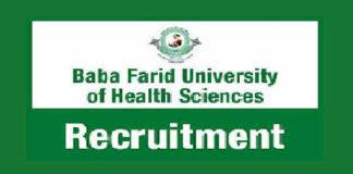 BFUHS Recruitment