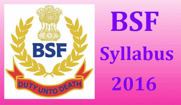 BSF-Syllabus-2016