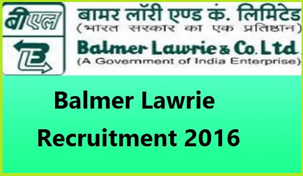Balmer-Lawrie-Recruitment-2016