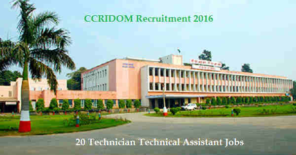 CCRIDOM Recruitment 2016