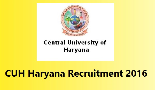 CUH-Haryana-Recruitment-2016