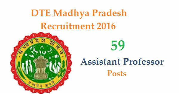 DTE MP Recruitment 2016