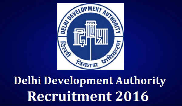 Delhi-Development-Authority-Recruitment-2016