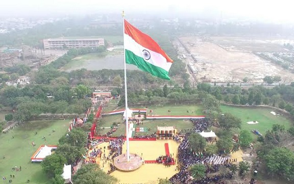 Faridabad-Haryana-indian-flag-photo