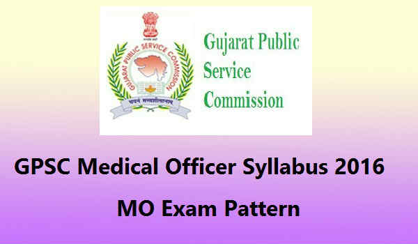 GPSC-Medical-Officer-Syllabus-2016