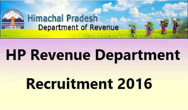 HP-Revenue-Department-Recruitment-2016