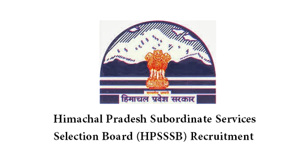 HPSSSB-Recruitment 2016