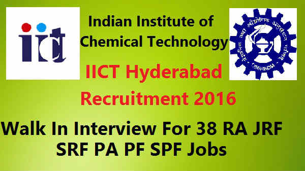 IICT-Hyderabad -Recruitment-2016