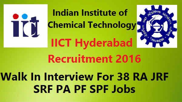 IICT-Hyderabad -Recruitment-2016